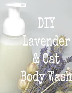 DIY Lavender & Oat Body Wash Diy body wash, Homemade