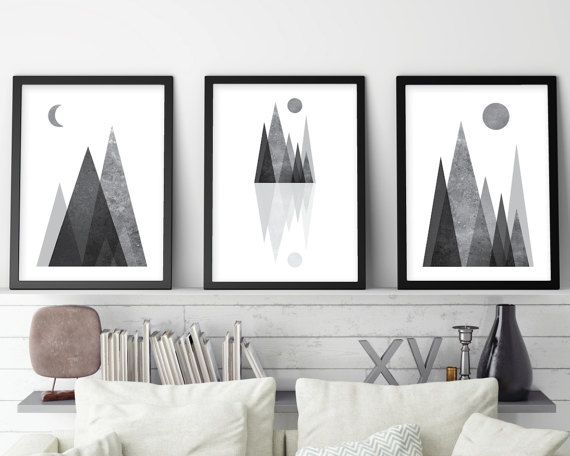 Black and white art minimalist poster sacred geometry zen yoga prints art minimalist scandinavian metatrons cube instant download
