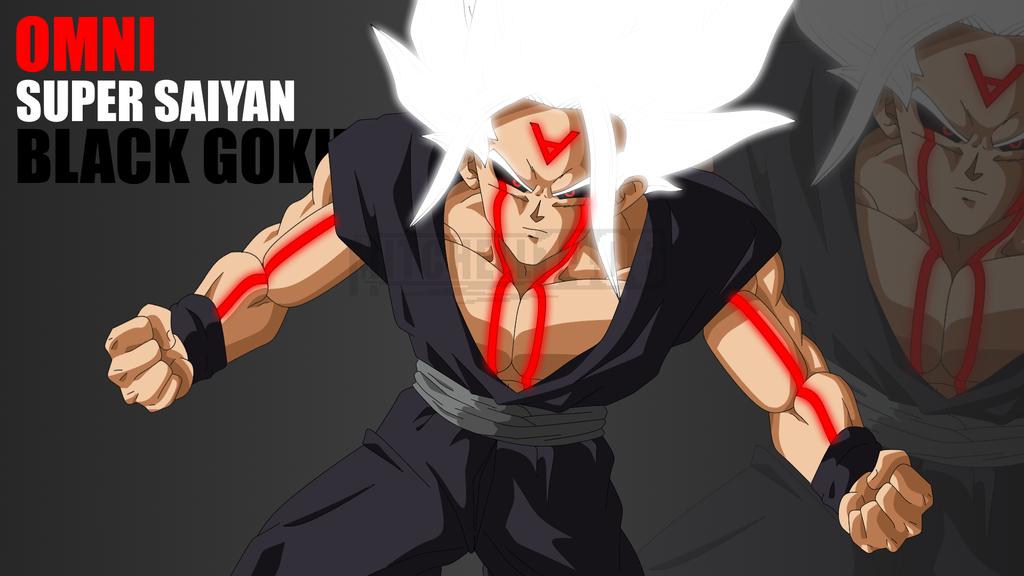 Super Saiyan White Black Goku By Https Mitchell1406 Deviantart Com On Deviantart Goku Dark Goku Goku Black