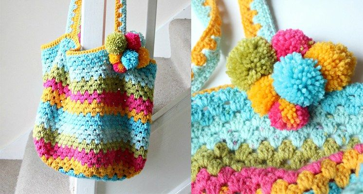 How to Crochet a Beach Bag