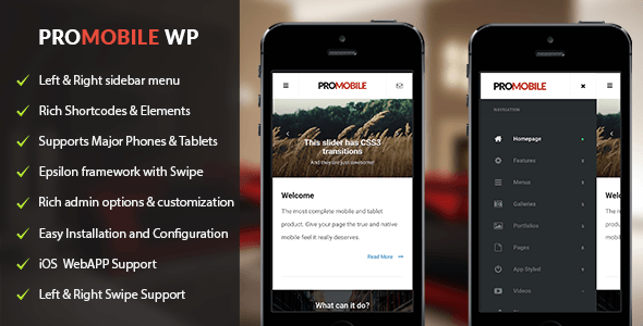ProMobile | Mobile and Tablet Responsive WordPress Theme Free ...