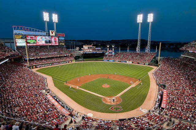 2011 Great American Ball Park Cincinnati Reds Cincinnati Reds Cincinnati Reds Baseball Cincinnati