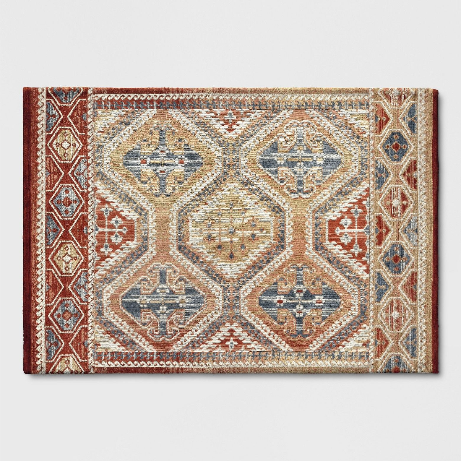 Floral Woven Accent Rug Threshold Rugs Accent Rugs Farmhouse Style Decorating