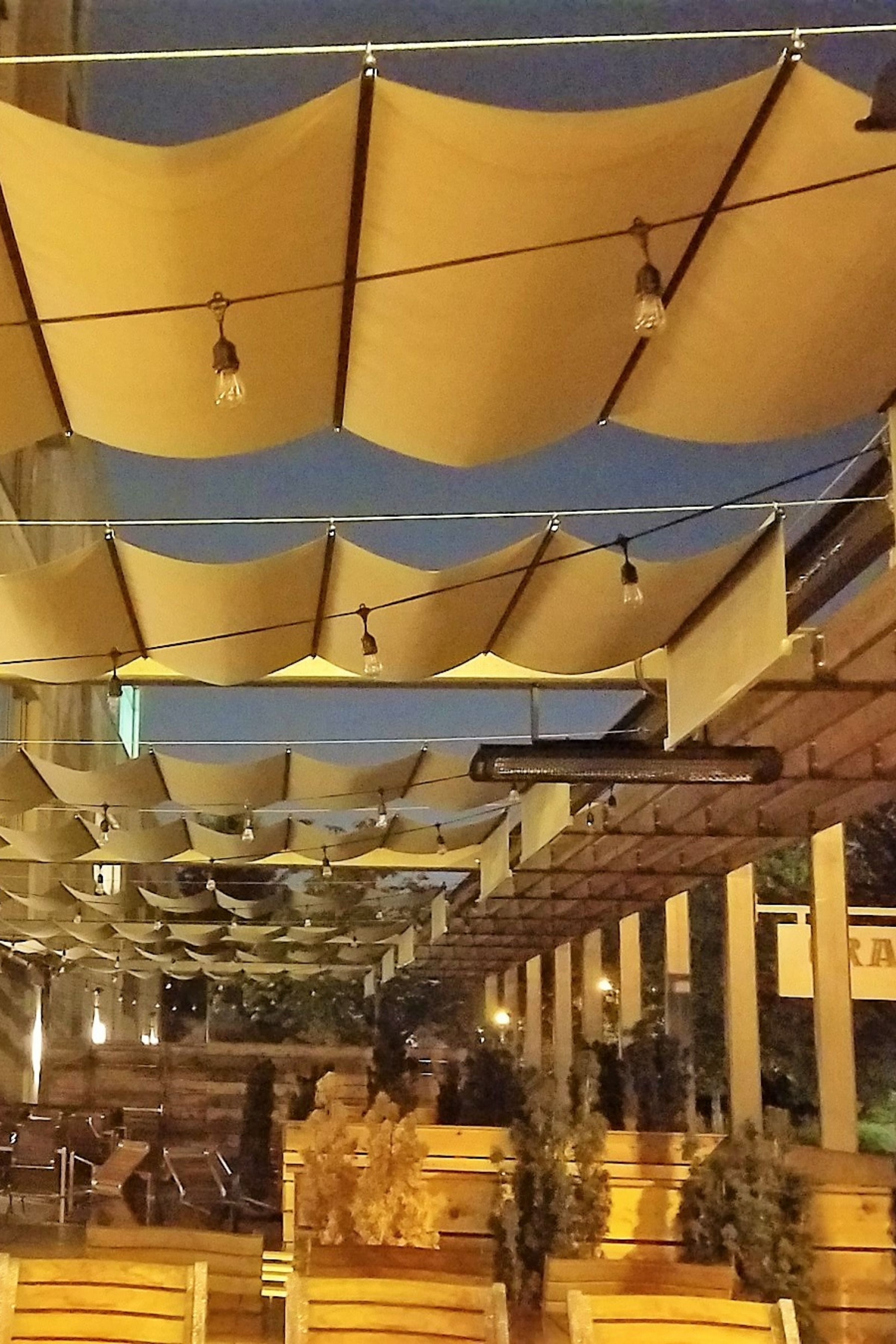 This Is A Gorgeous Retractable Canopy System At The Gray S
