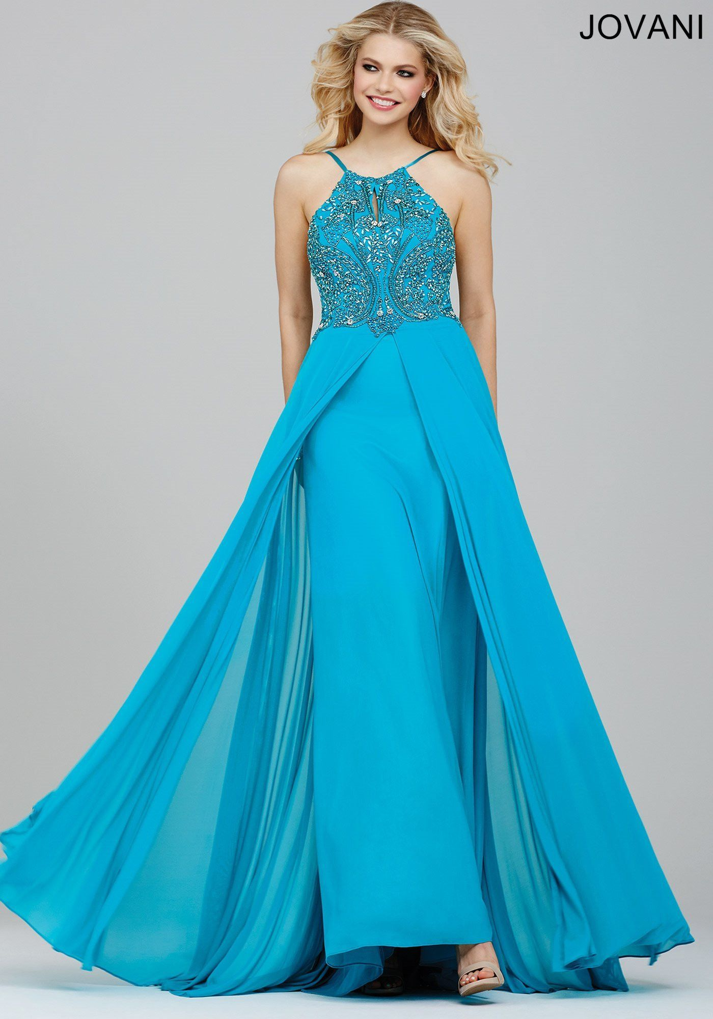 Jovani 24377 In Stock Turquoise Size 2 Prom Pageant Dress | Pageants ...