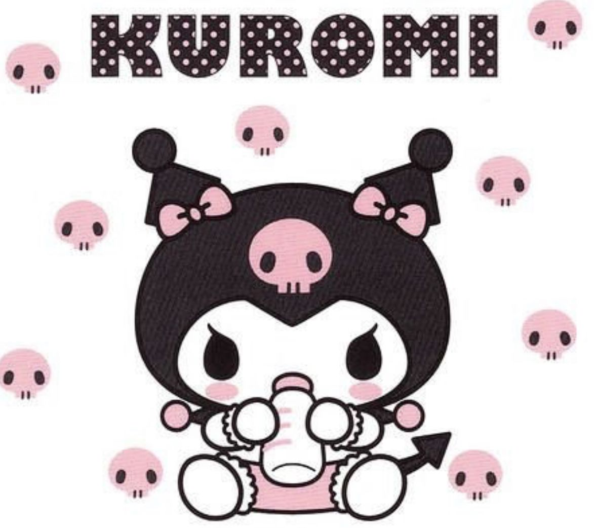 Baby Kuromi | sario | Hello kitty, Hello kitty wallpaper, Sanrio