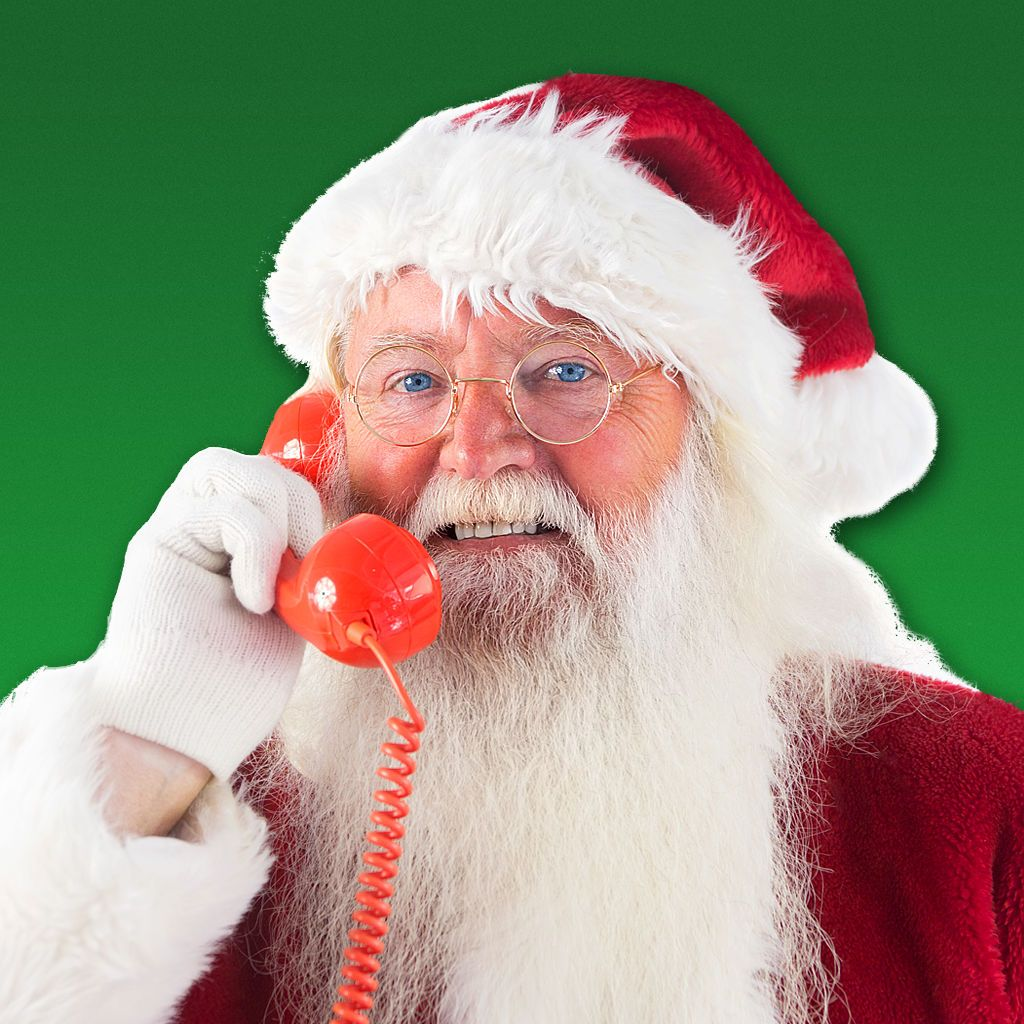 A Call From Santa! on the App Store Santa call, Message
