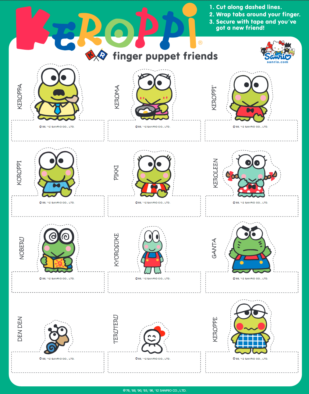 https://www.sanrio.com/pages/character-goodies-keroppi/ | Frog ...