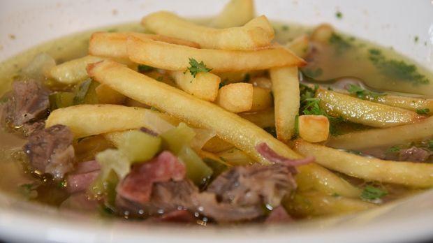 Essen Trinken Pommes Suppe Rezept Rezepte Lebensmittel Essen Essen Und Trinken