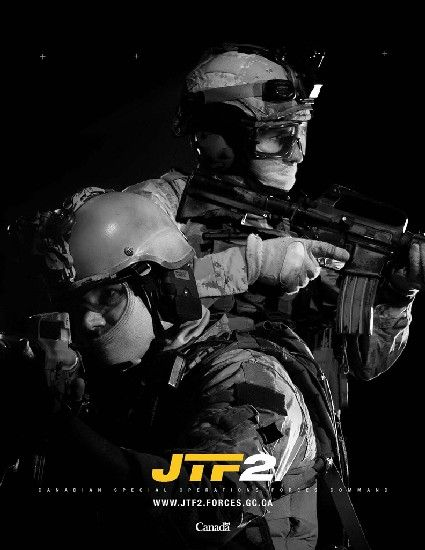 Canadian Spec Ops Jtf 2 Canadian Armed Forces Canadian Military