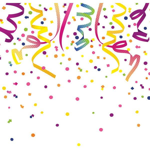 Bright Birthday Confetti 12 x 12 Paper (67 INR) ❤ liked on