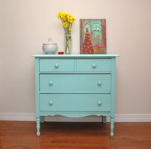 Vintage Dresser By Craftydill Via Flickr
