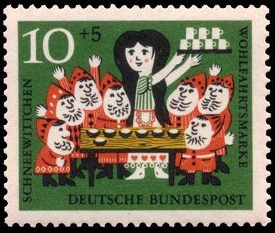Alemania 1960-Cuento Infantiles-Blancanieves y los 7 Enanitos