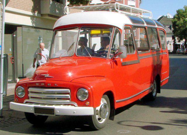 1949 Opel Oldtimer-Kleinbus   old bus   Cars, Vintage Cars