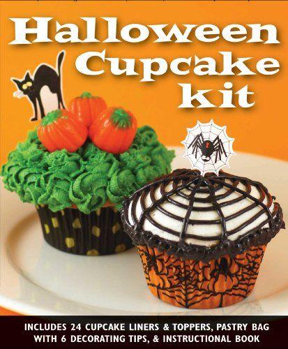 A Halloween Cupcake Kit -  #Deutschland  #Haushaltswaren  more - how to decorate cupcakes for halloween