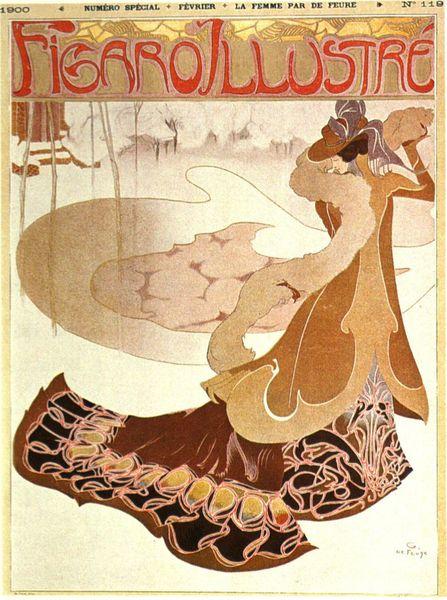 lesfleursdelart:  Le Figaro Illustré, George de Feure (1900)