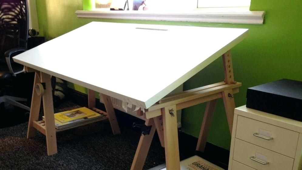 Ikea Drafting Table Tables Hack