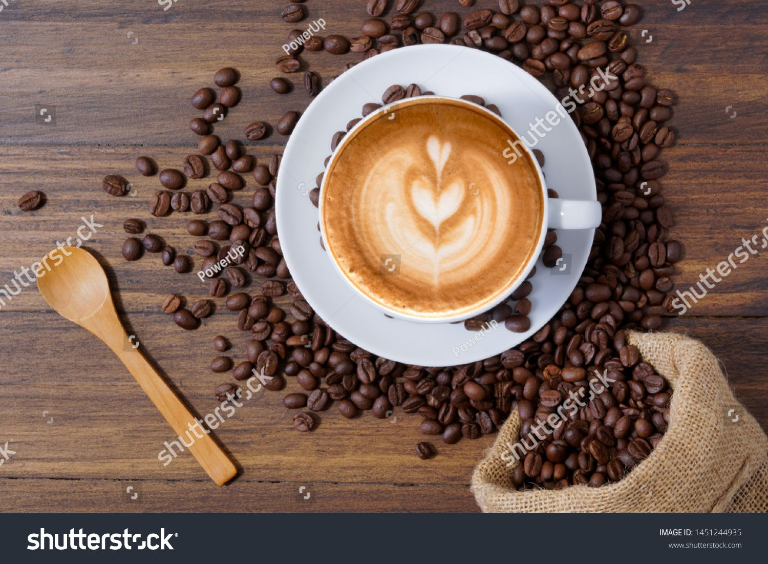 White Coffee Cup With Latte Art And Roasted Coffee Beans Around Sponsored Ad Cup Coffee White Latte White Coffee Cups Latte Art Roasted Coffee Beans