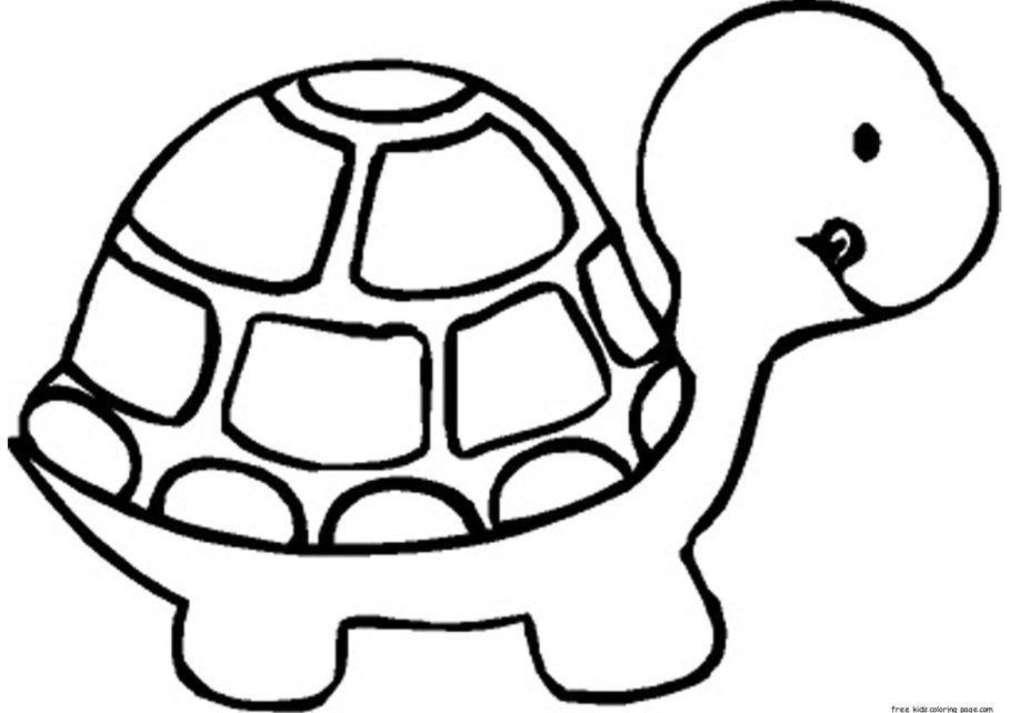 Turtle Coloring Pictures Pdf Images