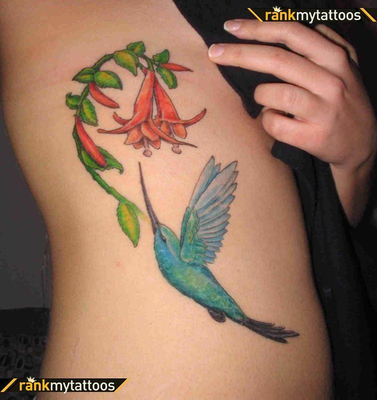 hummingbird tattoos with flowers google search tatoos pinterest hummingbird tattoo. Black Bedroom Furniture Sets. Home Design Ideas