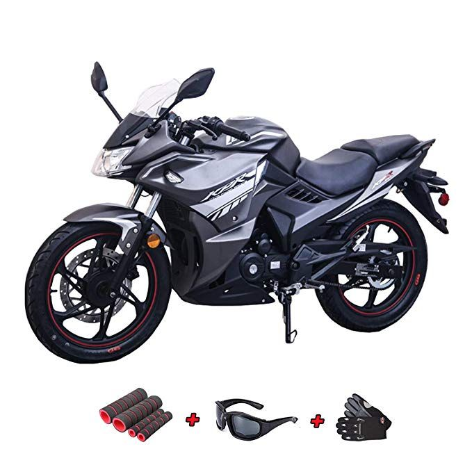 Motorcycle & ATV Vehicles White X-Pro 125cc Vader Adult Motorcycle ...