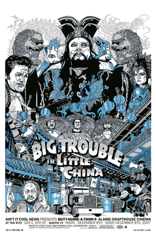 Big Trouble In Little China Mondo Posters Poster Prints Poster Art