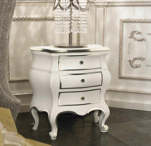 Le chevet baroque, rennaissance d\u0027un meuble classique - Archzinefr - meuble en bois repeint