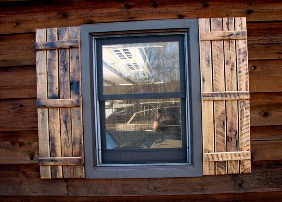 reclaimed wood shutters exterior - Google Search - Reclaimed Wood Shutters Exterior - Google Search Rustic Exterior