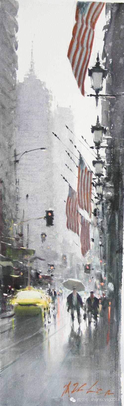 《JOSEPH ZBUKVIC 約瑟夫∙祖布克維克水彩畫展》4月25日隆重開幕!(水彩人生博客) - 水彩人生 - | Cityscape art