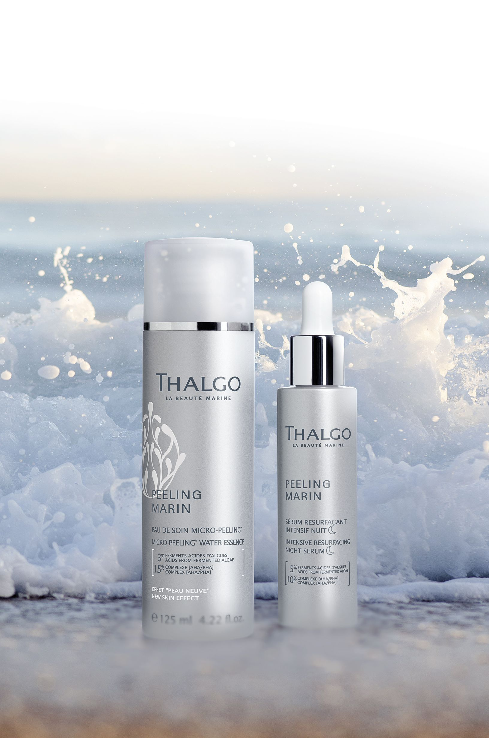 Inspired by dermatology, the Thalgo Laboratories have