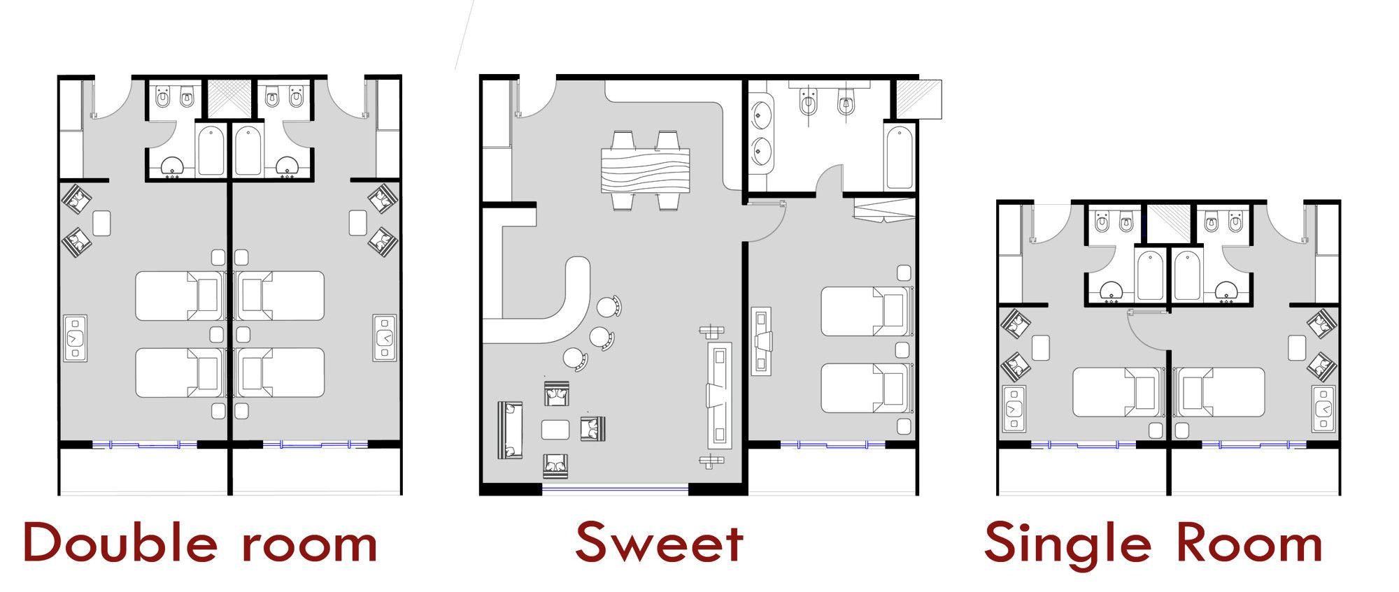 Hotel Room Floor Plans Gallery Of Father And Son Skyscraper Iamz Studio 5 Interior Desain Arsitektur Arsitektur Rumah