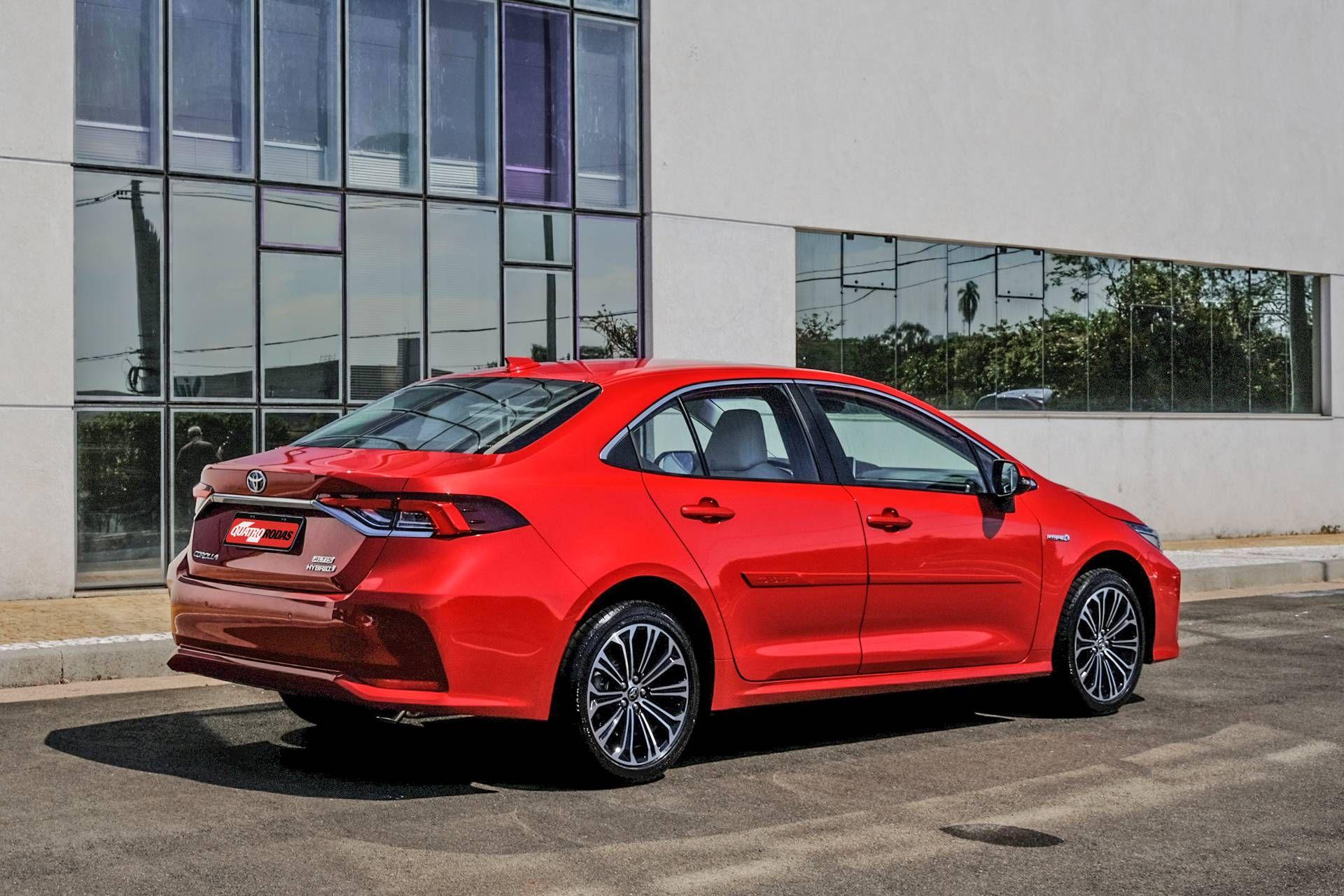 Corolla Altis Premium Hybrid 55 em 2020 Toyota corolla