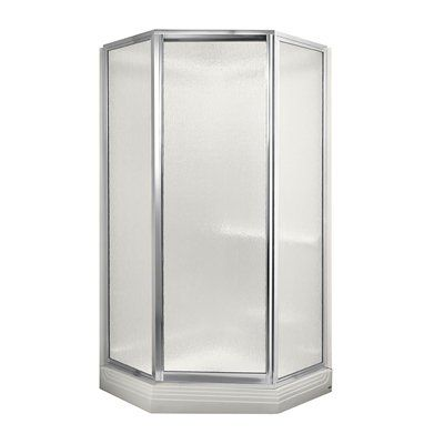 American Standard 3838 Y1k Acrylux Neoangle Kit Shower Enclosure