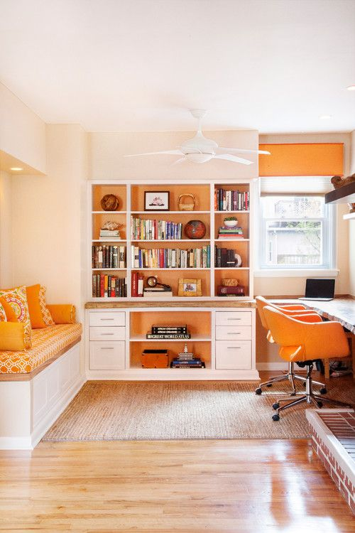 Orange Is A Great Color For Productivity And Concentration.