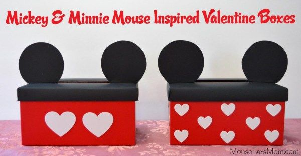 Mickey And Minnie Mouse Valentine Bo Fun Craft For A Disney Focused S Day