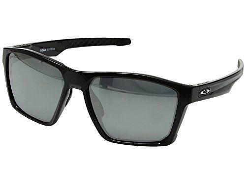 755d27a3cb7 Oakley Men s Targetline Polarized Iridium Square Sunglasses Polished Black  58.0 mm