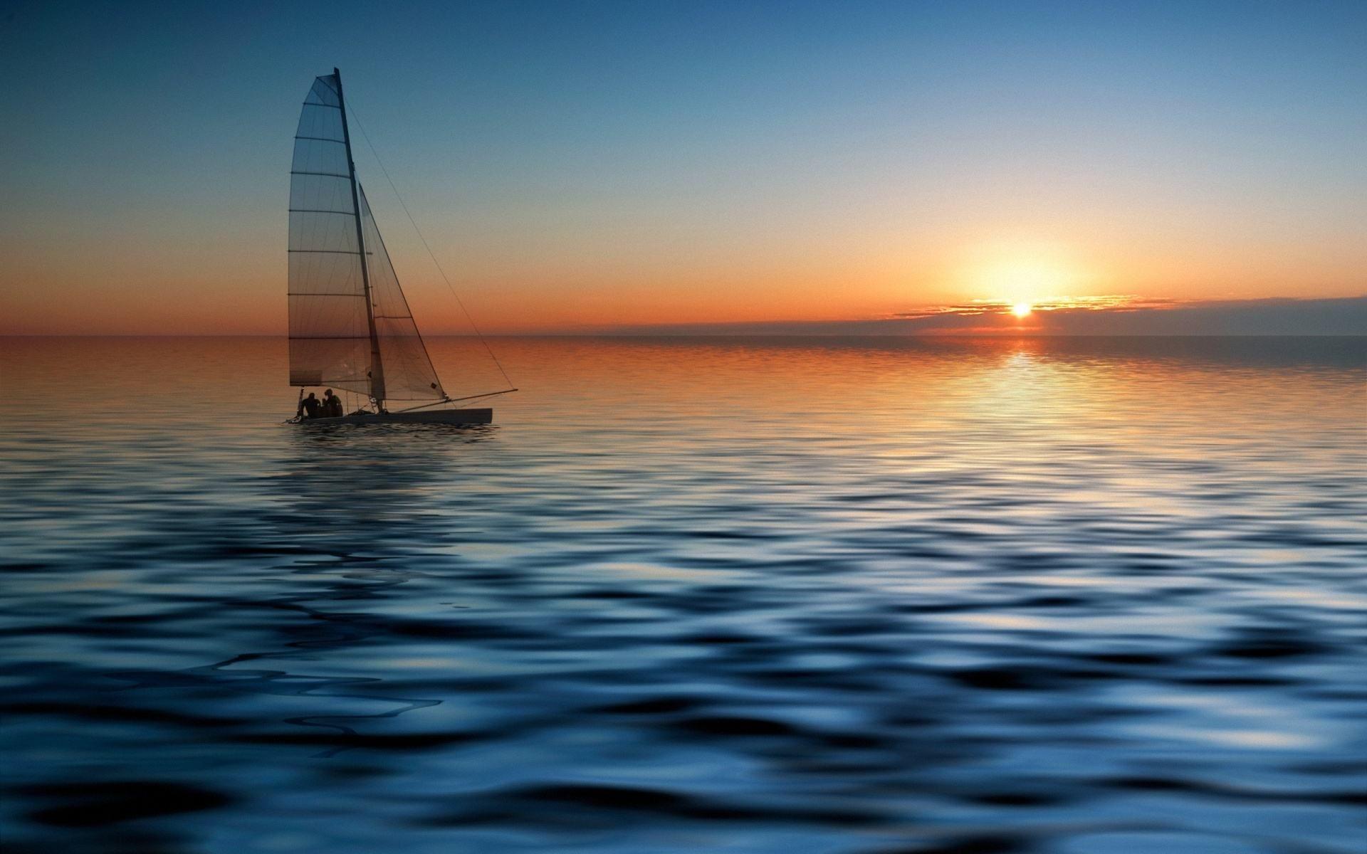 Обои яхта, Пейзаж. Природа foto 13
