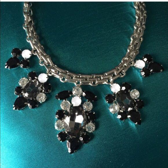 Listing for @sabinabruna T&J Design black & Silver necklace T&J Designs Jewelry Necklaces