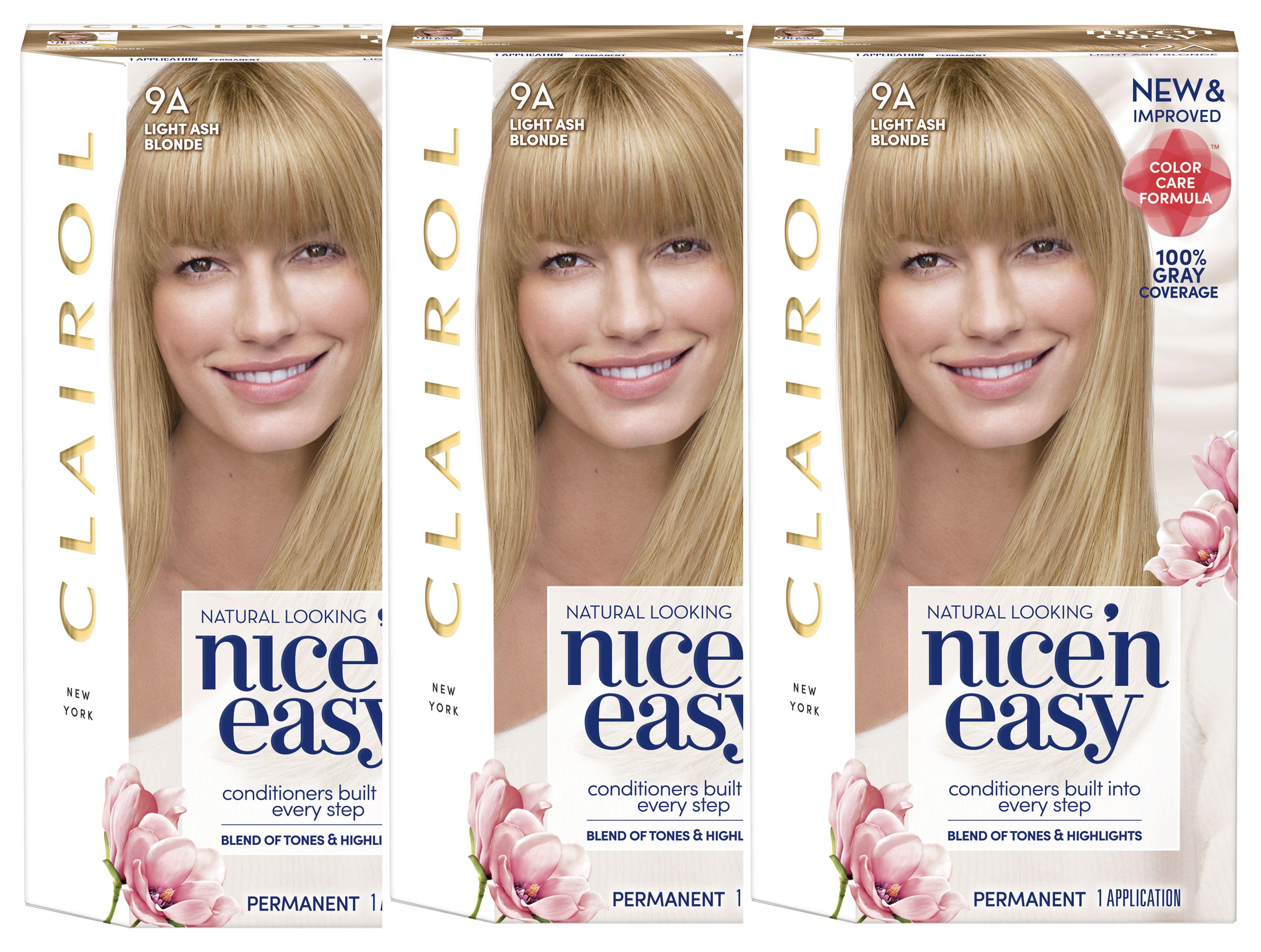 Clairol Nice N Easy Permanent Hair Color 4bg Dark Burgundy 3