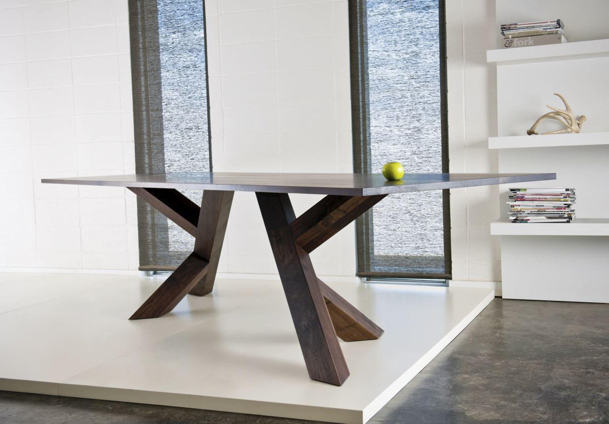 Contemporary dining table bases  Tsaf  SOLDADURA PARA INTERIORES  Pinterest  Contemporary dining