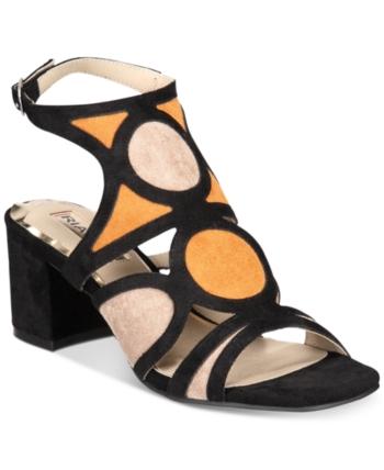 af319aa2c2f Rialto Saffron Block-Heel Slide Sandals - Blue 6M in 2019 | Products ...