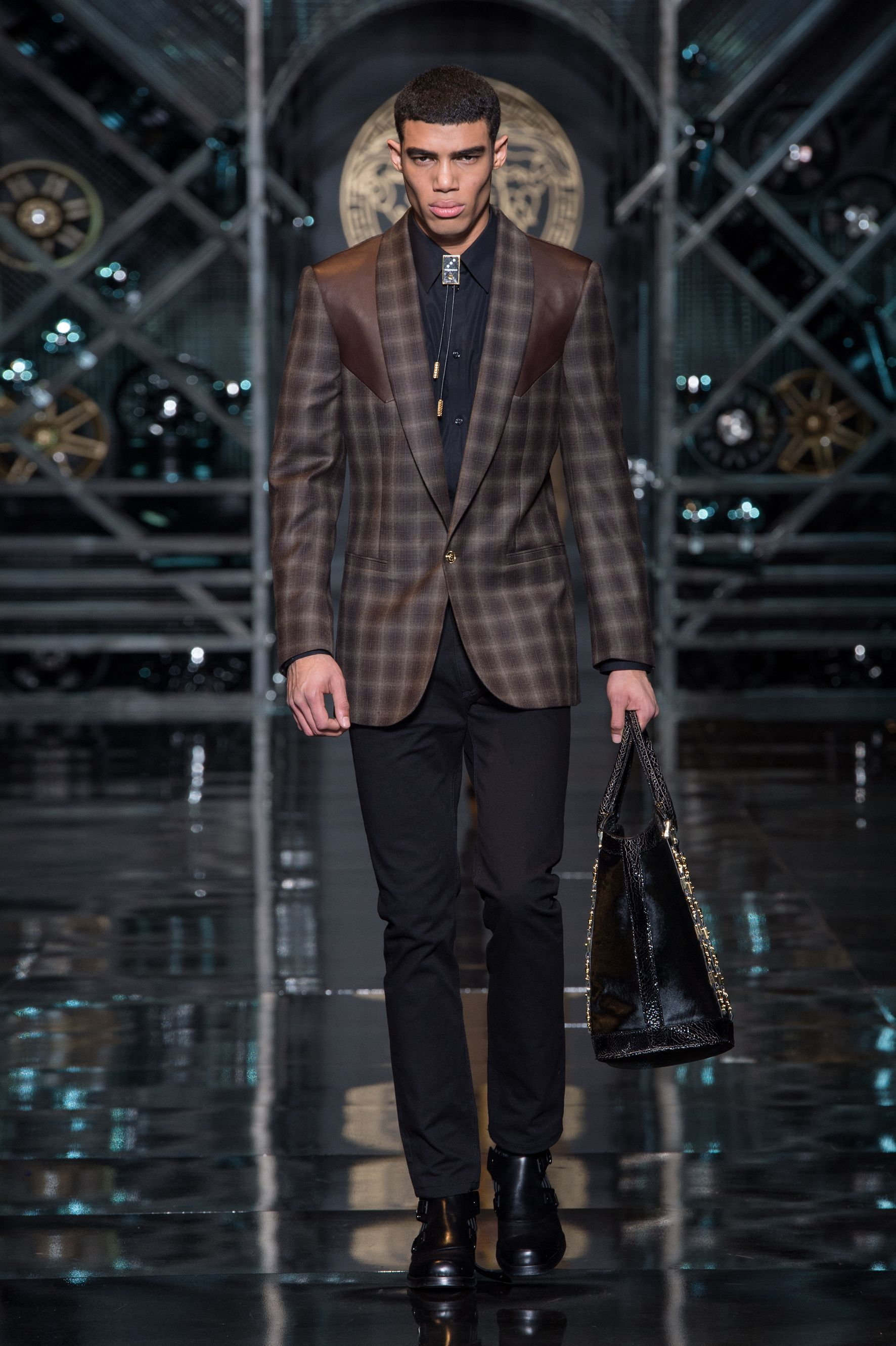 Men's fashion and accessories - FW 2014 - Fashion Show Collection - Versace 2014