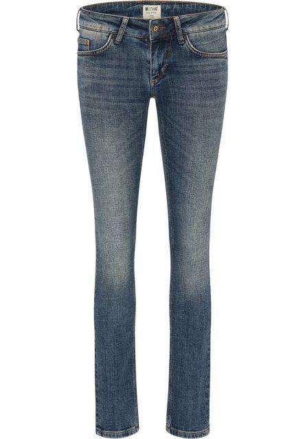MUSTANG Jeans Hose »Gina Skinny«, Slim Fit Jeans mit niedrigem Bund und schmalem Beinverlauf online kaufen | OTTO #hochzeitskleiderhäkeln
