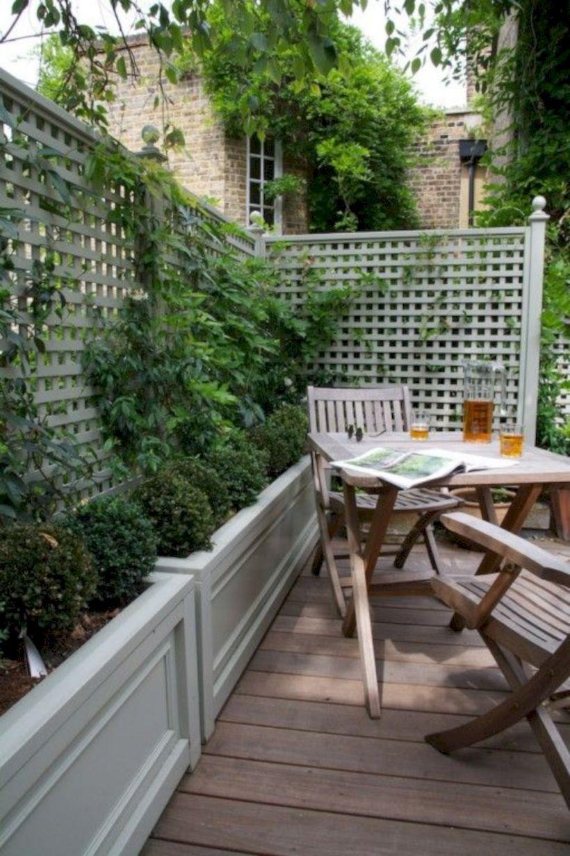 52 Latest Small Courtyard Garden Design Ideas For Your