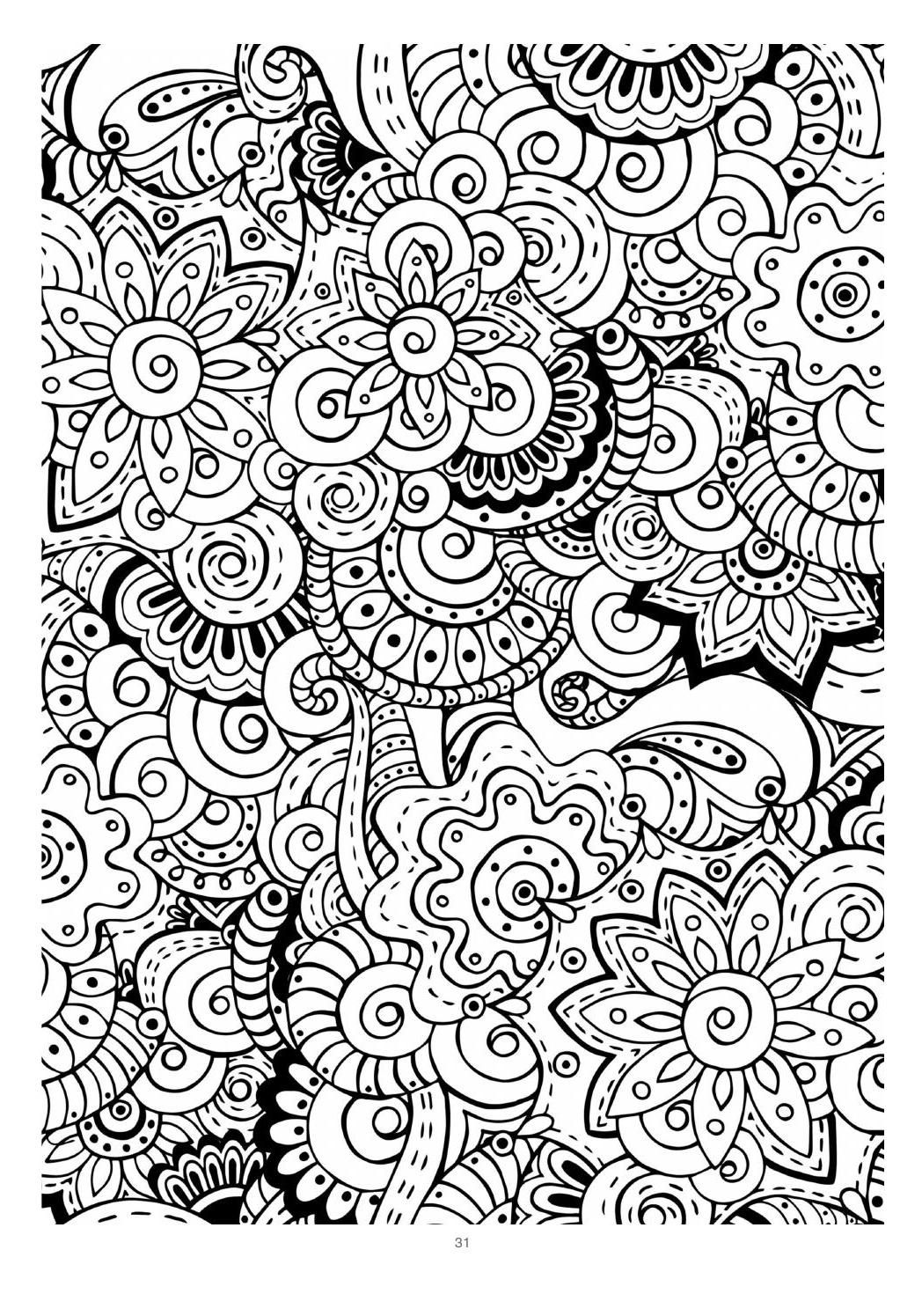 Mind Massage Colouring Book For Adults Colouring Pages