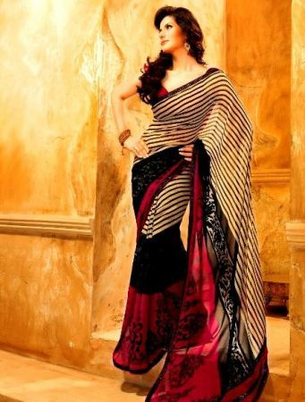 86be86b7748 Shop designer sarees online in India at lowest price and cash on delivery.  Best…