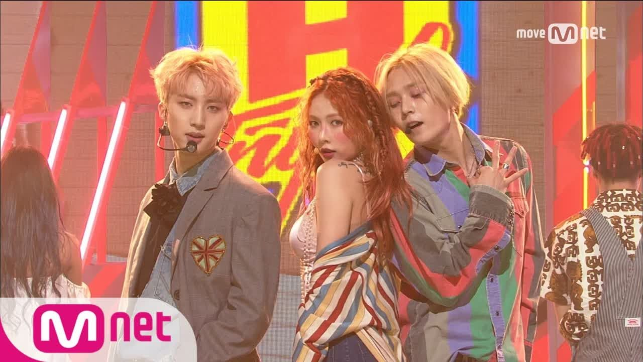 Triple H 365 Fresh Debut Stage M Countdown 170511 Ep 523 Youtube Triple H Dance Moms Cube Entertainment