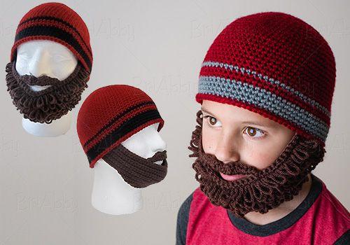 Beard Beanie Hat Crochet Pattern Crochet Pinterest Beard