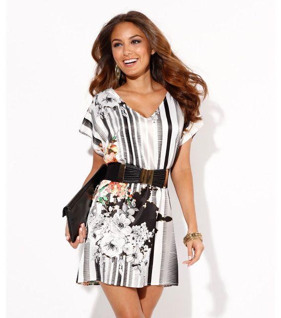 Modelos vestidos cortos casuales