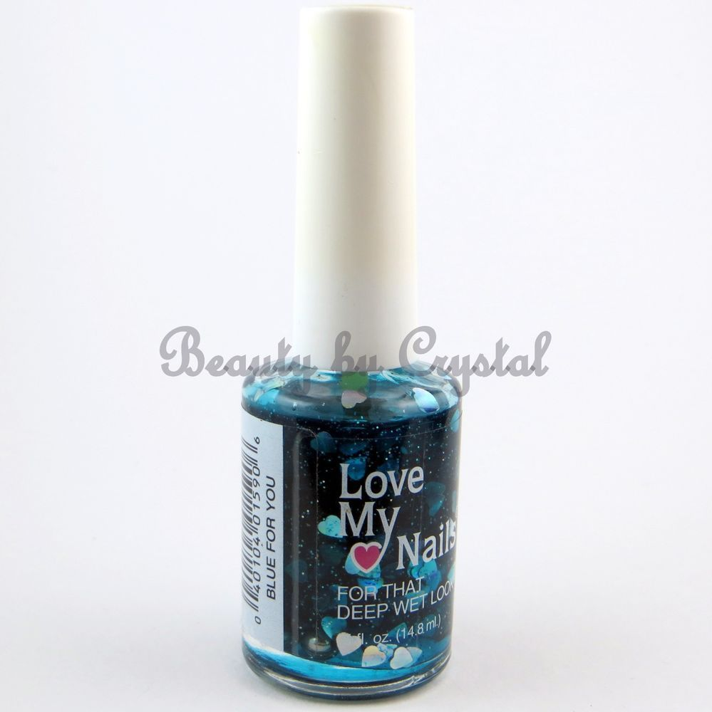 Love My Nails by Bari Nail Polish- BLUE FOR YOU #1590 Sheer Blue w ...